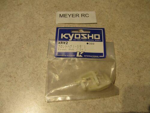 KYOSHO FRONT HUB // # XRW2 -15 DEG