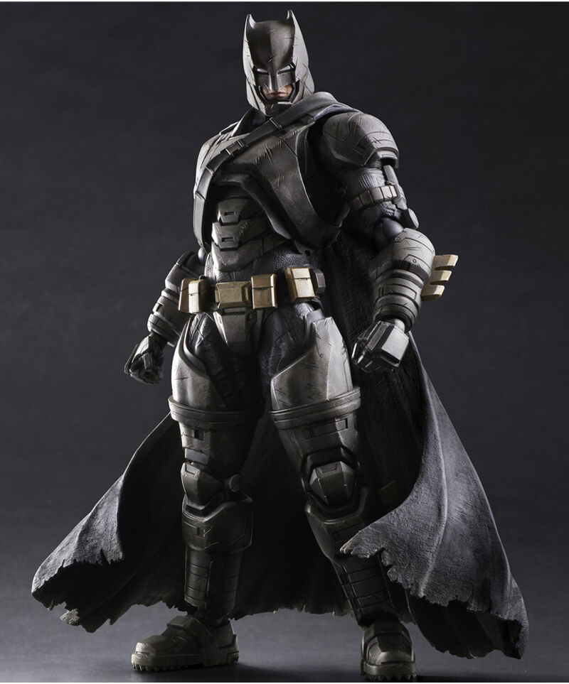 Play Arts Kai Batman vs Superman ArmoROT Batman Action Figures Statue Comic Toy