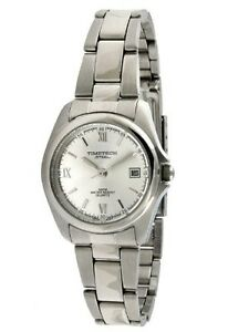 Women-039-s-Analog-Wrist-Bracelet-Watch-w-Steel-Silver-Dial-By-TimeTech