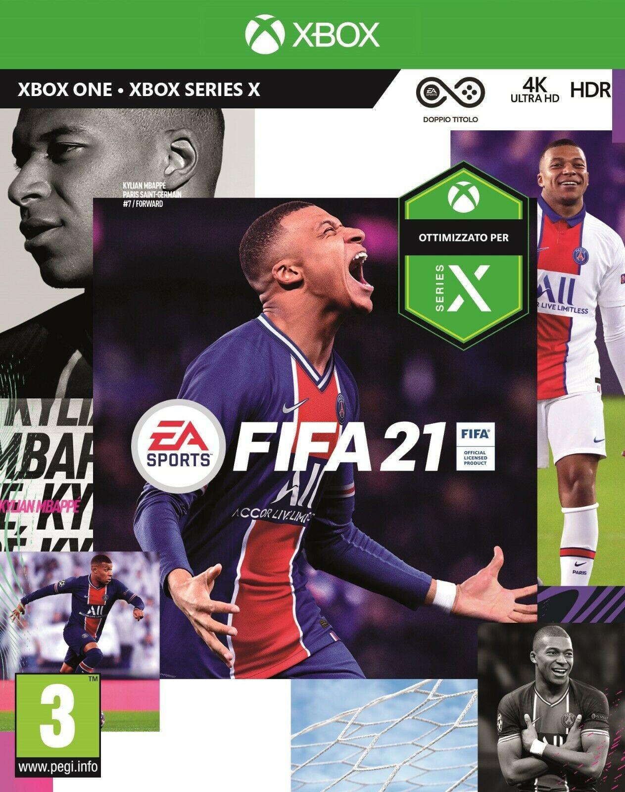 FIFA 21 XBOX ONE - STANDARD EDITION - MULTILINGUA