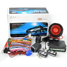 1-Way Car Vehicle Alarm Security System Keyless Entry Protection Speaker Siren