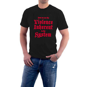 Violence in the System / Repressed T-shirt Monty Python Holy Protest Grail Tee