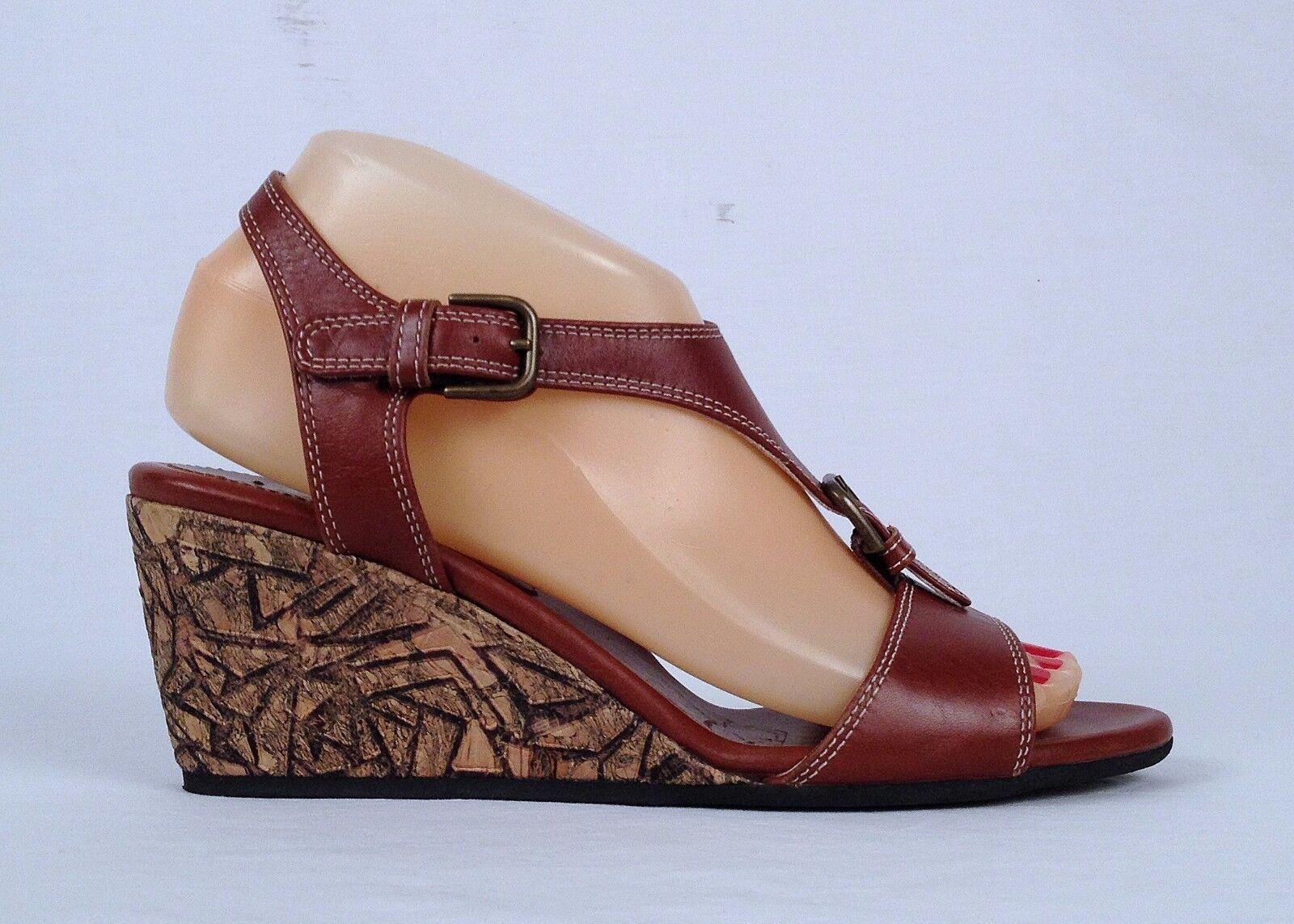 NEU   Anyi Lu 'Lolita' Buckled Wedge Sandale- Choose Größe-  425  (P18)
