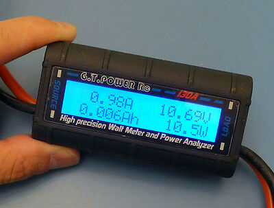 G.T.POWER Rc Watt Meter and Power Analyzer High Precision 130A 60V GT-Power