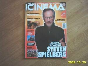 STEVEN SPIELBERG on front cover Cinema 7/05 Polish mag. -  Wałbrzych, Polska - STEVEN SPIELBERG on front cover Cinema 7/05 Polish mag. -  Wałbrzych, Polska