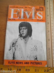 Lot-of-2-Elvis-Presley-Monthly-174-218-1970s-British-magazines-UK-Fan-Club