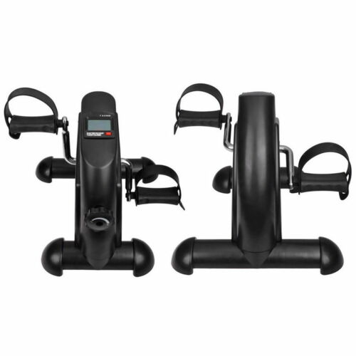 Mini Pedal Exerciser Bike Fitness Exercise Cycle Leg//Arm w// LCD Display Home Gym