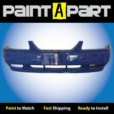 1999 2000 2001 Ford Mustang GTFront Bumper Painted L5 Azure Blue
