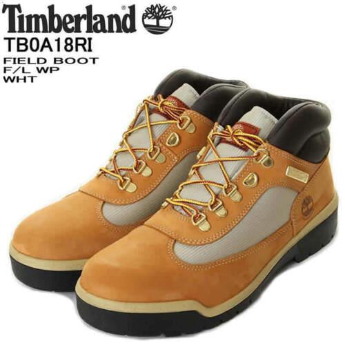 TB0A18RI Men/'s Timberland Waterproof Field Boots Wheat Nubuck