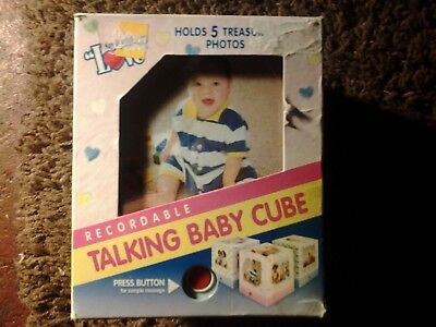 RECORDABLE TALKING BABY CUBE BRAND NEW! FAST SHIPPING!