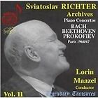 Sviatoslav Richter Archives, Vol. 11: Piano Concertos by Bach, Beethoven, Prokofiev (2007)