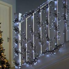 Chasing Cluster Light String Multi-Function 180 Multicoloured LED 2.7m