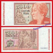 CHILE 5000 Pesos 2003 Pick 155e SC  /  UNC