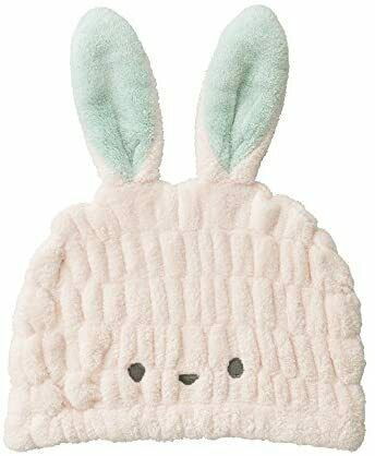 CB Japan towel cap rabbit water quick-dry Children/'s microfiber Kararizu...