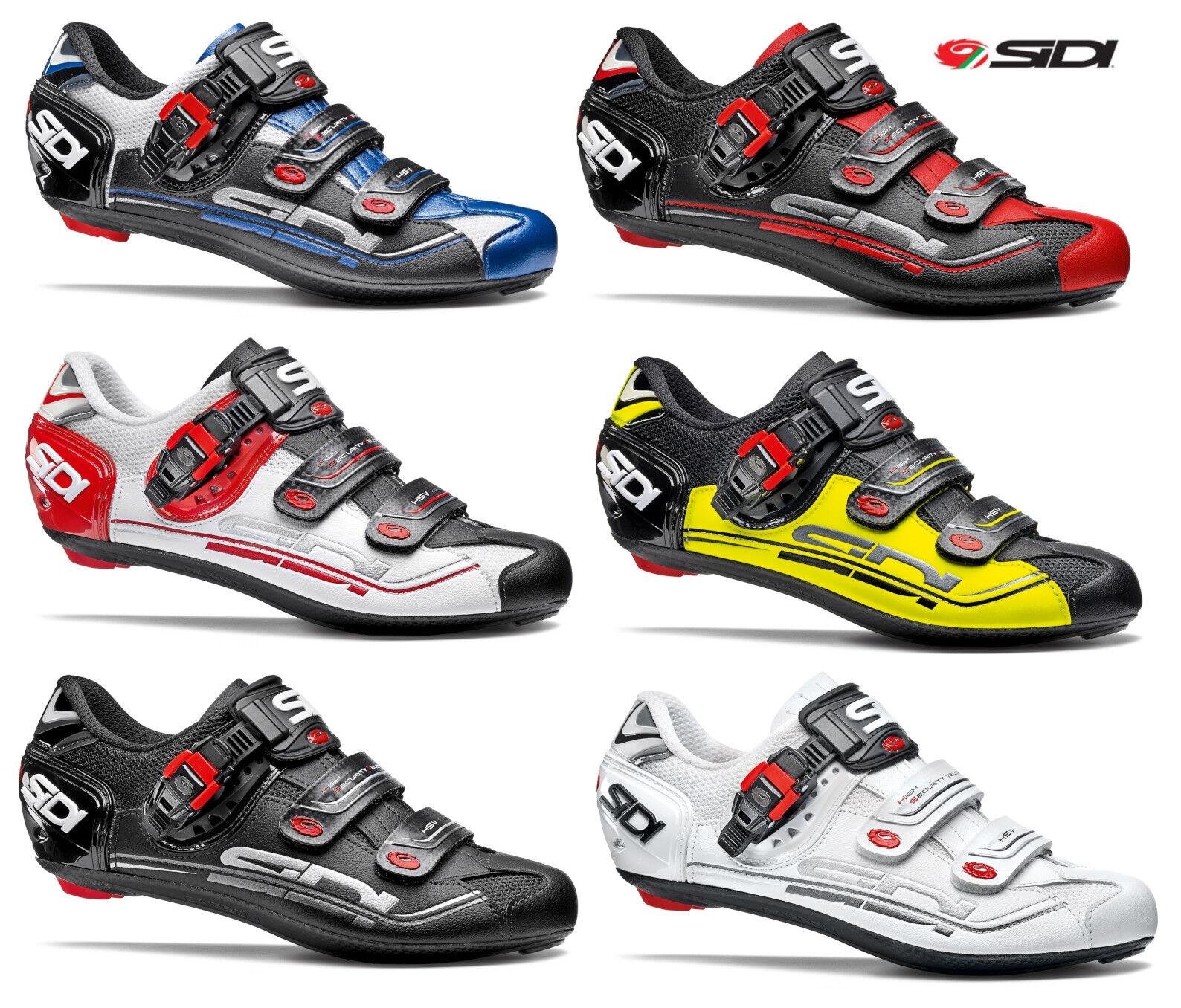 Sidi Men's Genius 7 Carbon Road Cycling shoes, Various  Sizes colors  outlet online