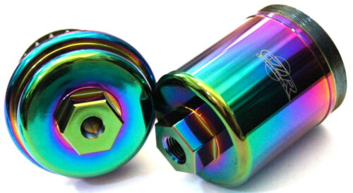 CZR RACING HIGH FLOW FUEL FILTER WASHABLE HONDA 96-00 CIVIC NEO CHROME