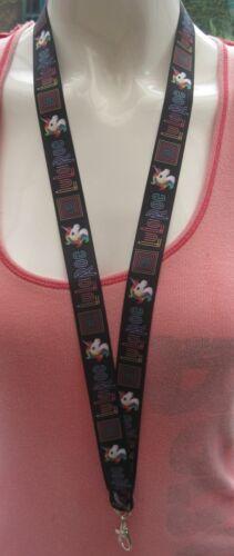 Unicorn rainbow lanyard breakaway rose 2 sizes ID badge funky cute pink