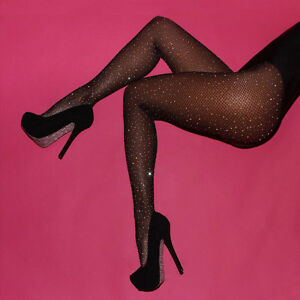 Sexy-Women-039-s-Bling-Crystal-Rhinestone-Fishnet-Pantyhose-Tights-Stockings-Fashion