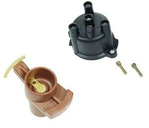 set of distributor cap & rotor geo metro lsi xfi 89 97