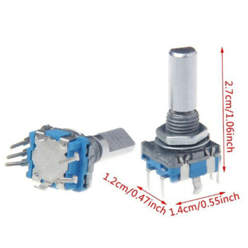 5PCS Rotary Encoder With Switch EC11 Audio Digital Potentiometer Handle xl