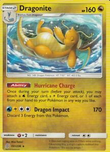 Dragonite-151-236-Unified-Minds-M-NM-Pokemon-Karte-EN