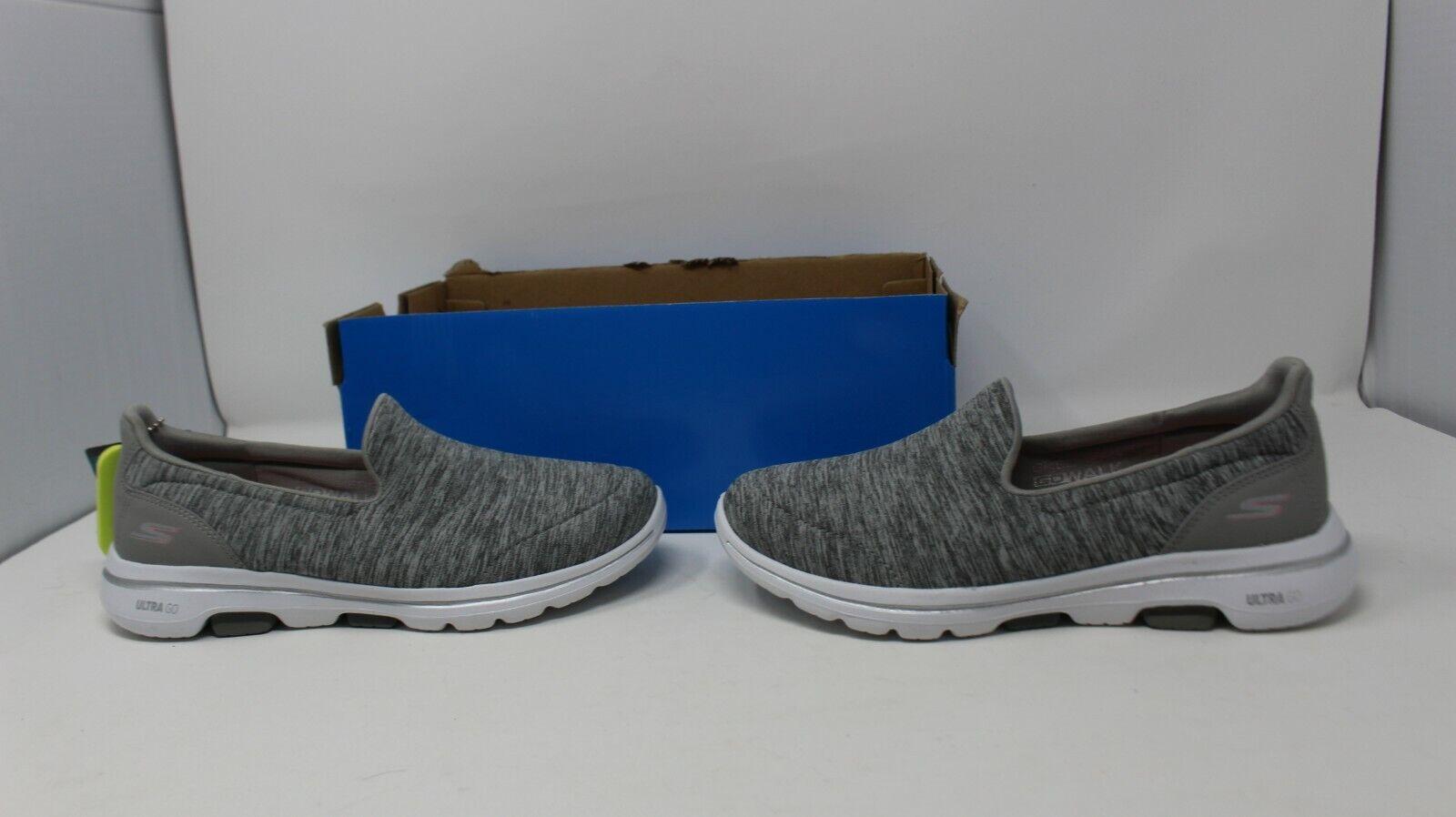 NEW Women's Gray Skechers Go Walk 5-Honor 15903/GRY Comfort Shoe #BU