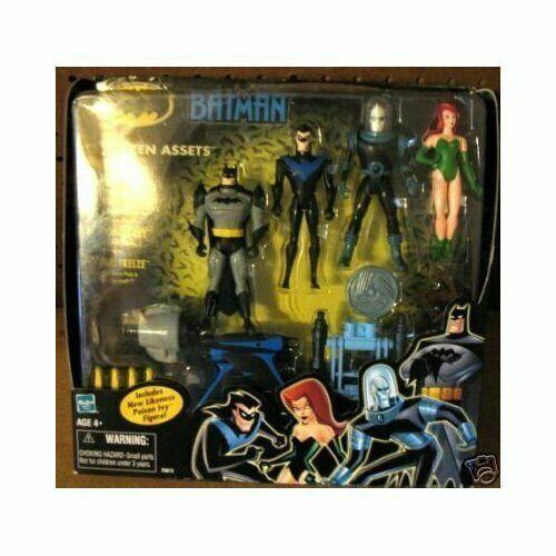 DC Universe Batman Frozen Assets Action Figures 4 Pack NEW Mr Freeze Nightwing