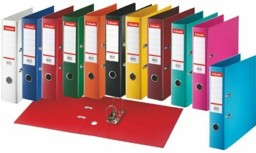Esselte Plastik-Ordner Standard DIN A4 75mm hellblau Ringordner Sammelordner