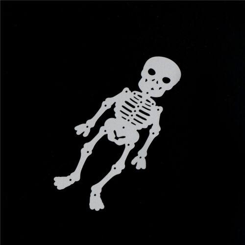 Skeleton die cuts metal cutting dies scrapbooking embossing folder RS