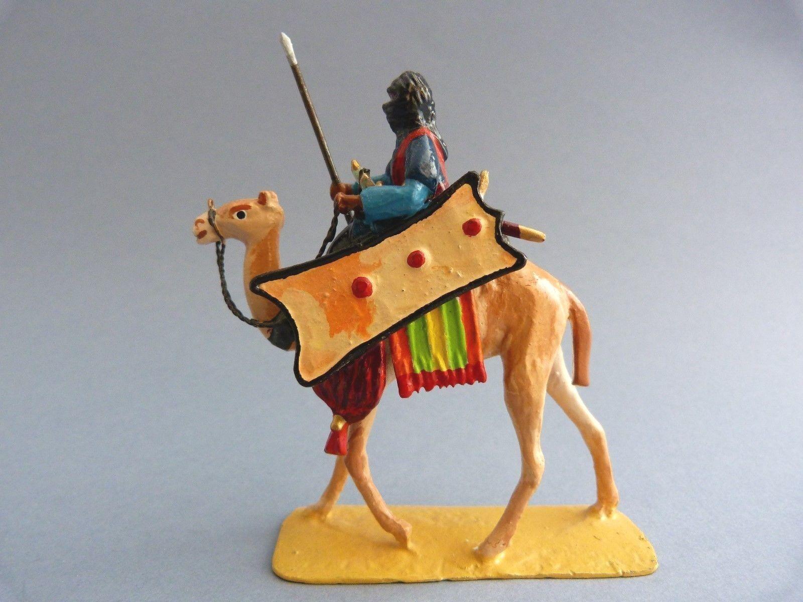 Lead giocattolo soldier - Touareg on camel - Soldat de  plomb - Touareg sur dromadaire 1  grande sconto
