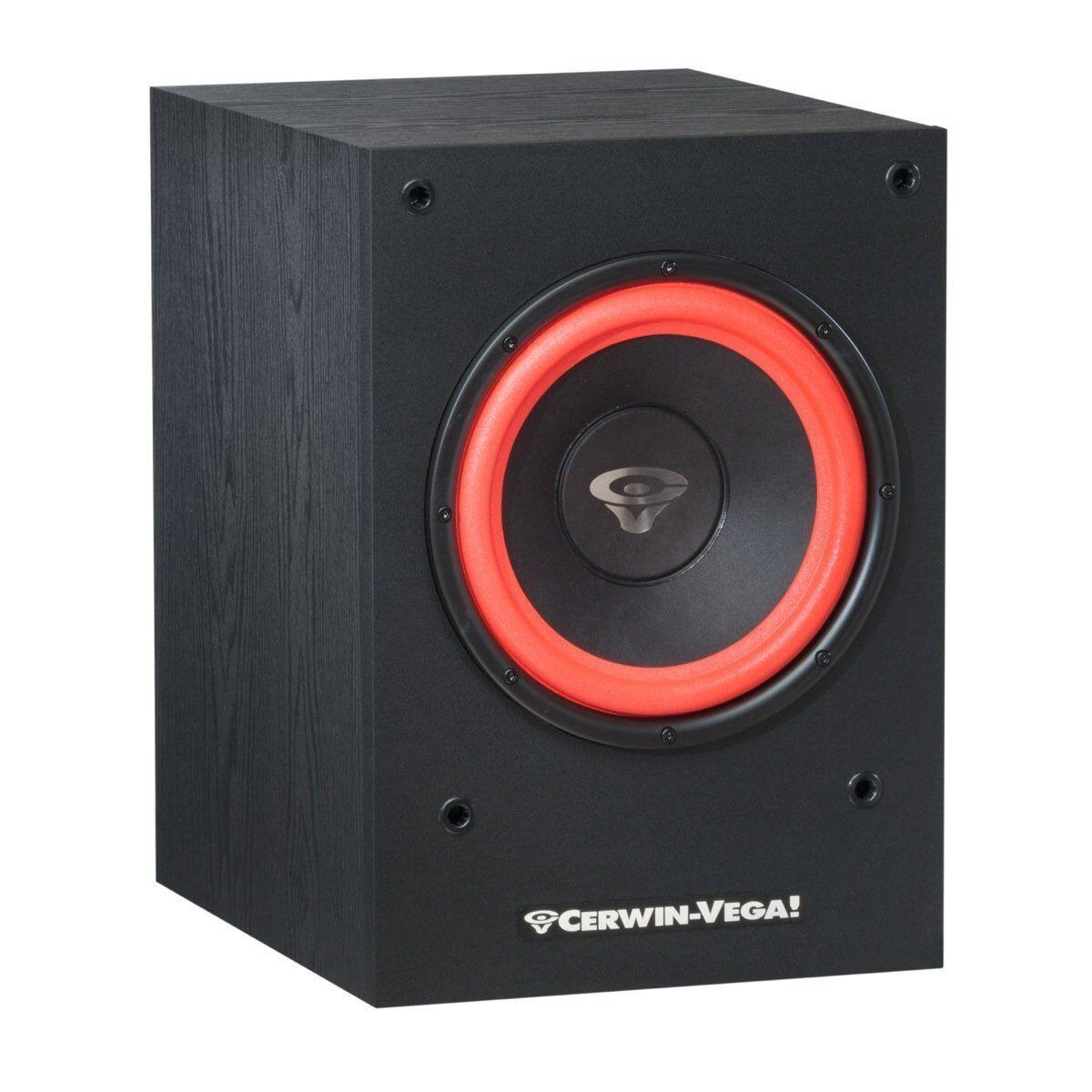 Classic Cerwin Vega Home Audio SL-10S 10  Powered Subwoofer 212Watt Built in Amp