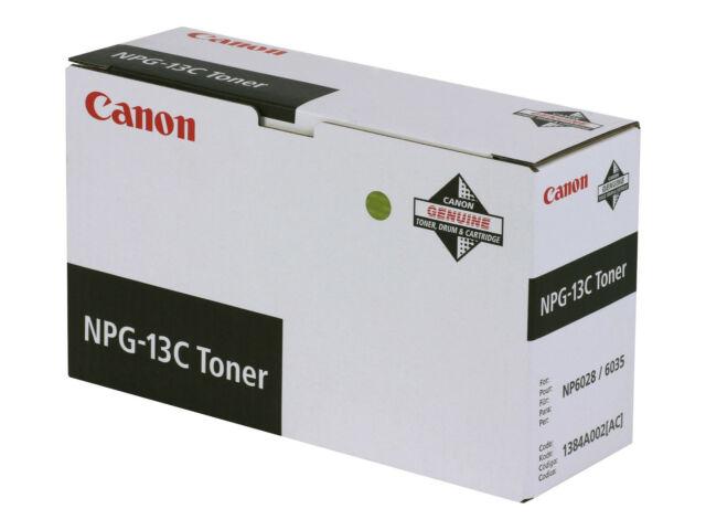 Original CANON NPG-13C Toner schwarz 10.000 Seiten neu A