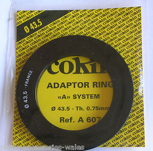 GENUINE COKIN 43.5MM ADAPTOR RING FOR COKIN A SERIES FILTER HOLDERS