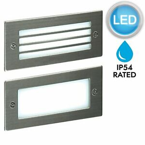 Modern-Outdoor-Stainless-Garden-Recessed-Wall-LED-Brick-Light-1-2-or-4-pack