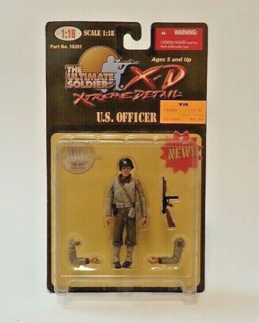 Ultimate Soldier 2000 1:18 U.S. Officer  WWII