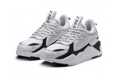 36966601 //.Running Sneakers Shoes White Black 369666-01 PUMA RS-X Core