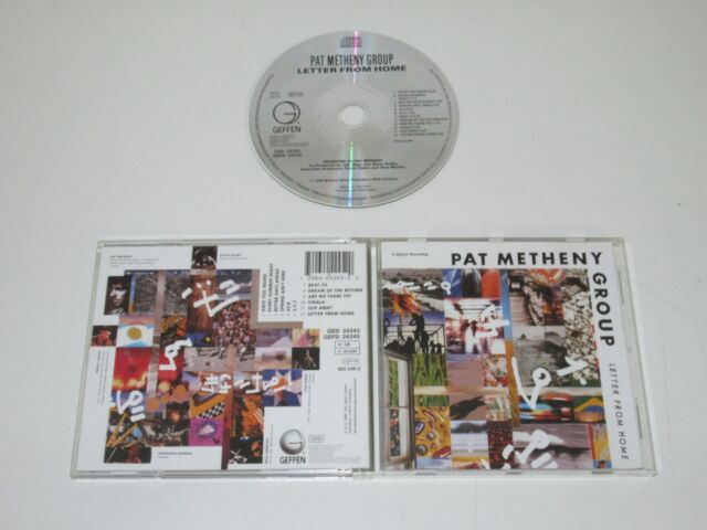 Pat Metheny Group / Letter From Home (Geffen Ged 24245) CD Album