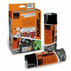 Spray Film Foliatec Kit 2 Aérosols de 400 ml Noir Brillant