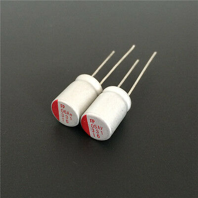 20pcs 16V330uF 16V 8x11.5mm Fujitsu FP VGA//MB Low ESR Solid Capacitor