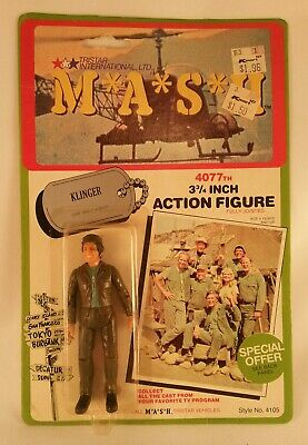 M*a*s*h mash 4077th 1982 action figure customset of 11 stands tri-star toy