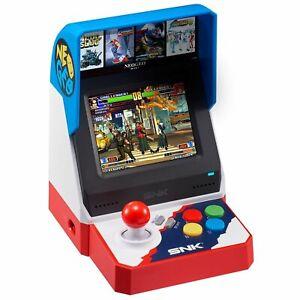 SNK-NEO-GEO-NEOGEO-Mini-Classic-40th-Anniversary-Arcade-40-Games-included