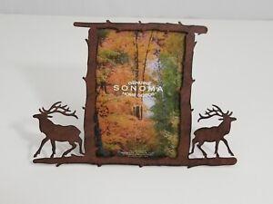 Sonoma Genuine Home Goods Metal Moose Picture Frame 35x5 Ebay