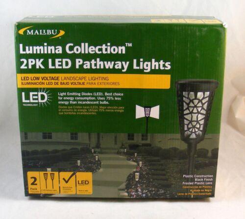 Malibu Lighting Lumina Collection 2 PK LED Pathway Lights 1401-5102-80-0714