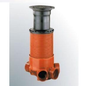 Kontrollschacht-Revisionsschacht-Abwasserschacht-DN-400-DN-500-KG-Anschluss