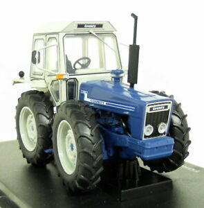UH-1-32-Scale-5271-Ford-County-1174-Blue-Diecast-model-Farm-Tractor