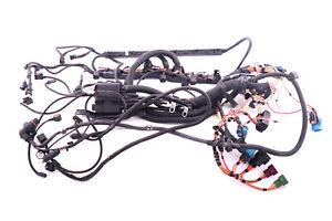 bmw 5 6 series e60 e61 e63 e64 n52 engine wiring loom harness rh ebay co uk