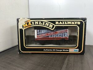 AUTHENTIC-VINTAGE-MAINLINE-37-167-7-PLANK-WAGON-ENGLANDS-GLORY-BOXED-RAILWAYS