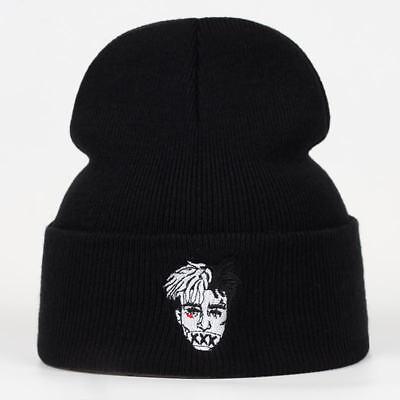 New XXXTentacion Winter Beanie Hat Hip Hop Men Cotton Adjustable Rapper Rap Cap
