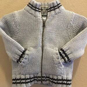 e29900ca6 Old Navy Baby Boy Knit Crew Neck Zip Up Sweater Size 12-18 Months ...