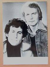 PHOTO SERIE  STARSKY ET HUTCH PAUL MICKAEL GLASER DAVID SOUL